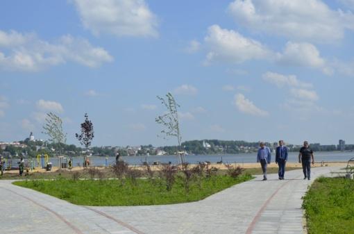 Masčio ežero pakrantė atgyja