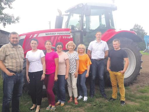 Mobili komanda jau lanko ūkininkus