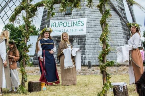 Kupolinėse prie Žaliūkių malūno – žemaitiški amatai ir tradicijos