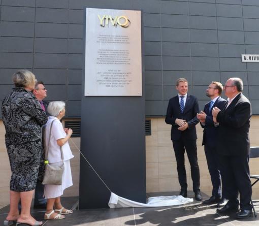 Vilniuje atidengta žydų mokslinių tyrimų instituto atminimo lenta