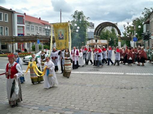 Sekmadienį Šiauliuose– Devintinių procesija