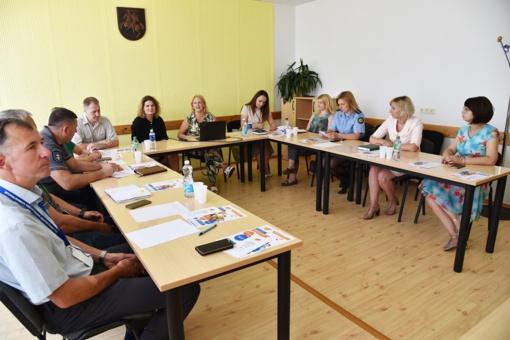 Pasitarimas dėl tarpinstitucinio bendradarbiavimo stiprinimo