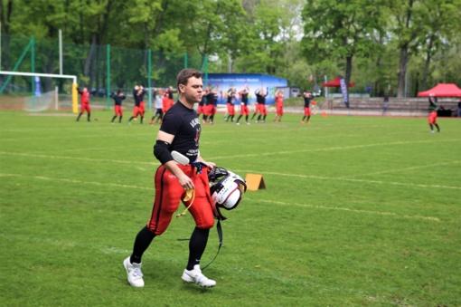 Lietuvos amerikietiško futbolo klubų derbį laimėjo vilniečiai