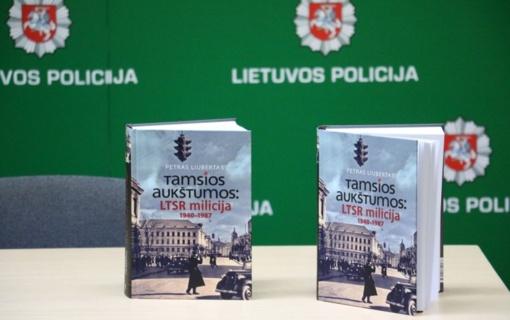 Pirmojo Lietuvos policijos generalinio komisaro knygos pristatymas