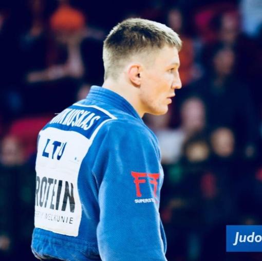 Dziudo kovotojas K. Vitkauskas Europos žaidynėse pralaimėjo pirmąją kovą