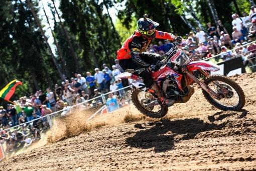 A. Jasikonis pasaulio motokroso čempionato etape Vokietijoje - dešimtas