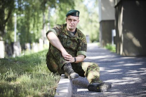 """Lietuviškų ristynių kovos meną praktikuojantis profesionalus karys: """"Tai papildo mano veiklą kariuomenėje"""""""