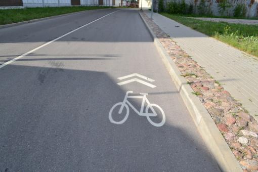 Jonavoje atsiras naujas dviračių takas