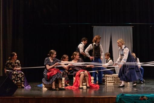 Legendinis spektaklis suburs Lietuvos, Latvijos ir Estijos teatrus
