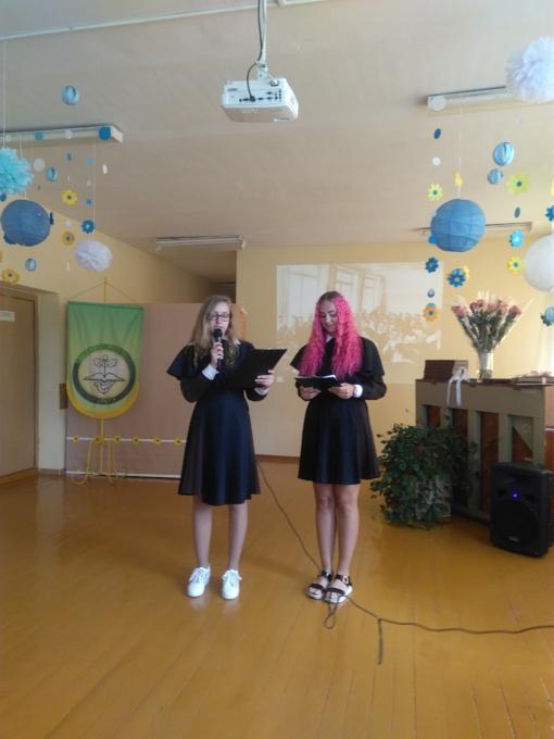 """Mokslo metų baigimo šventė """"Kol esame kartu..."""" Šiaulių r. Gilvyčių mokykloje"""