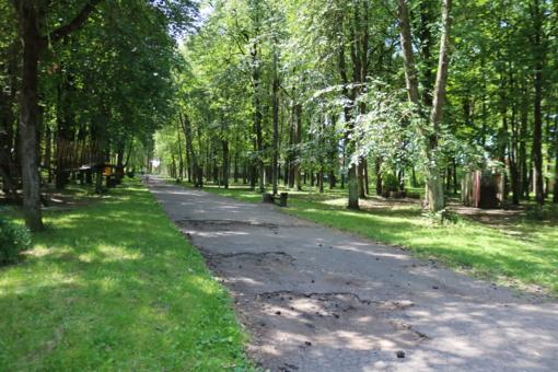 Bus atgaivintas centrinis Šiaulių miesto parkas (vaizdo įrašas)