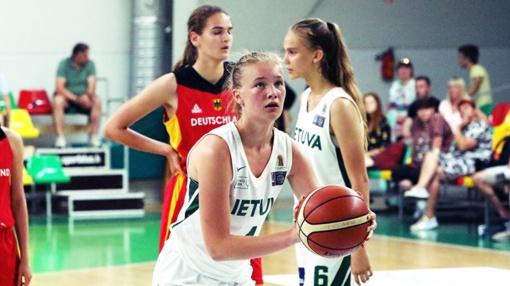 Varėniškė Gerda Raulušaitytė atstovavo Lietuvos U15 rinktinei