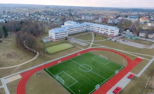 Lazdijų Motiejaus Gustaičio gimnazijos modernizavimui skirta virš 16 tūkstančių eurų