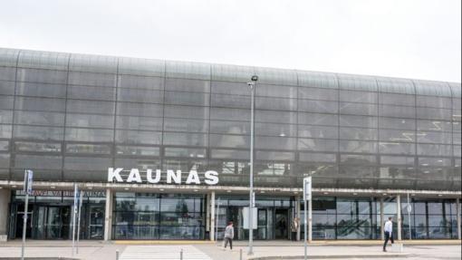 Kauno oro uoste sulaikytas nusikaltimu įtariamas iš Anglijos atskridęs vyras