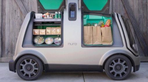 Ateitis jau čia: maistą pristato robotai