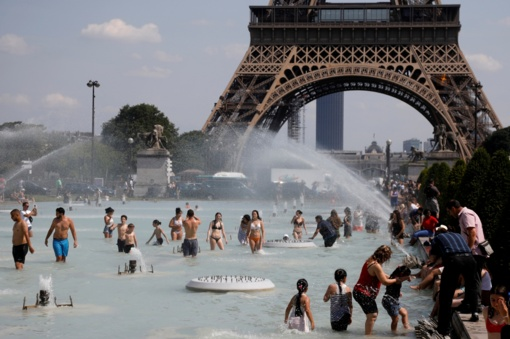 Prancūzijoje tęsiasi karščio rekordai: temperatūra perkopė 45 laipsnius