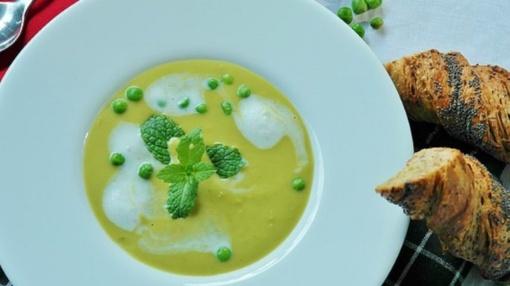 Prancūziška žirnių sriuba