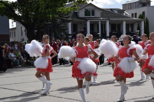Miesto šventės metu skambėjo didinga orkestrų muzika