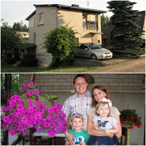 Jauna šeima būstui gavo 16 tūkst. eurų dovaną