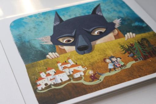 """Knygų iliustruotojų paroda """"Bėgimas su vilkais"""""""