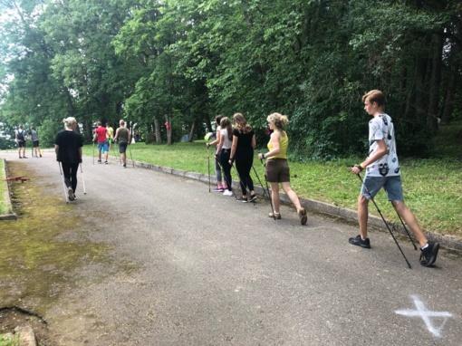 Šiaulių rajono jaunimo vasaros stovyklose – sveikatos dienos