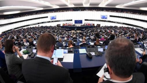Naujosios sudėties Europos Parlamentas susirinko į pirmąją sesiją