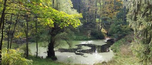 Kviečia į ekskursiją po Lentvario dvaro parką