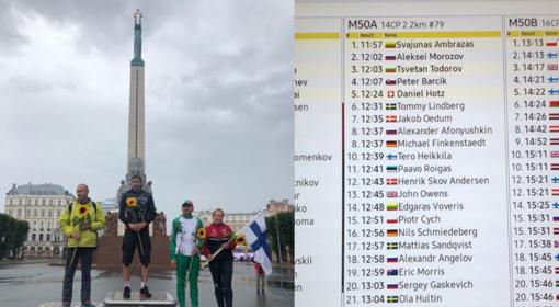Orientavimosi sporto meistrų pasaulio čempionate – šiauliečio triumfas