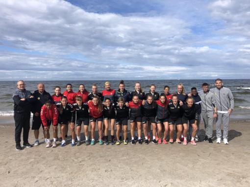 """""""Gintra-Universitetas"""" pasirengimą UEFA Čempionių lygai pradeda treniruočių stovykla Latvijos pajūryje"""