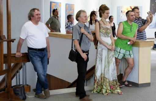"""3-ioji tarptautinė Alytaus vizualaus meno bienalė """"Meno matas. Įvykių horizontas"""""""