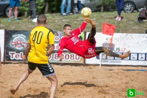 Kupiškyje vyko antrasis paplūdimio futbolo čempionato etapas