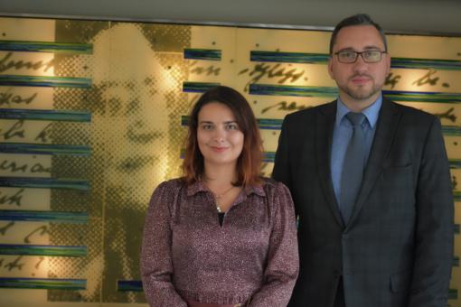 Klaipėdos apskrities viešajai I. Simonaitytės bibliotekai pradėjo vadovauti L. Juchnevič