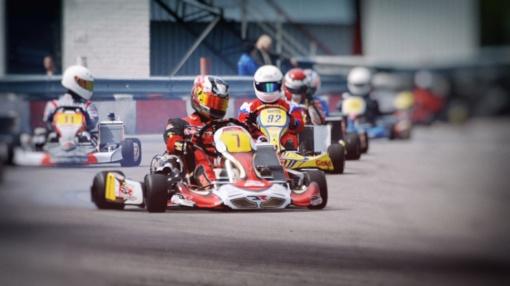 BMW Lietuvos kartingo čempionato sezonas įpusės Anykščiuose