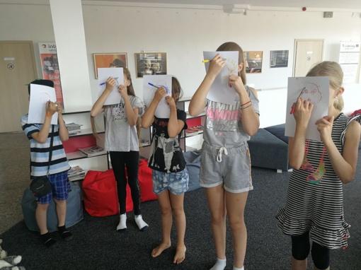 Vasaros stovyklėlė bibliotekoje – turiningam vaikų laisvalaikiui