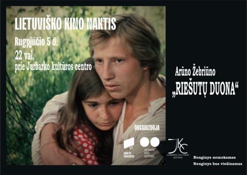 """""""Kinas po žvaigždėmis"""" dovanoja lietuviško kino naktį visam pasauliui: kvies kartu žiūrėti """"Riešutų duoną"""""""
