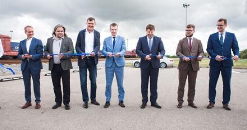 Atidarytas krovinių maršrutas iš Klaipėdos į Kijevą