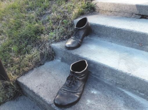 Pasivaikščiojimas su palaimintojo batais