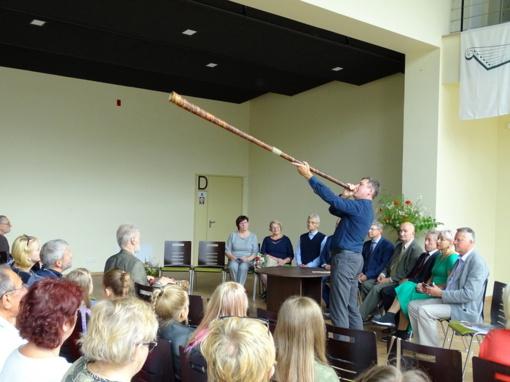 Prasidėjo Žemaičių etnomuzikavimo ir tradicinių amatų vasaros kursai