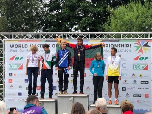 Šiaulietis orientavimosi sporto meistrų pasaulio čempionate - nepralenkiamas