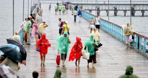 Ką veikti Palangoje, kai lyja lietus
