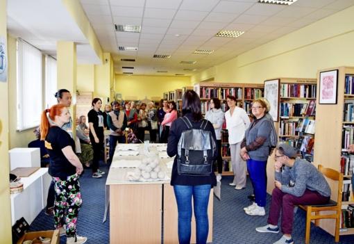 Gyventojus subūrė keramikos pažinimo bei kūrybiškumo akcija
