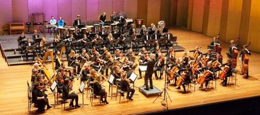 Trakų pilies apžvalgos aikštėje – Olandijos jaunimo simfoninis orkestras
