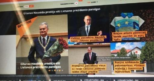 Įsigaliojo sprendimas blokuoti interneto svetainę sputniknews.lt