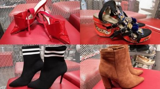 Anglijos lietuvės masiškai perka nupigintus dizainerių batus