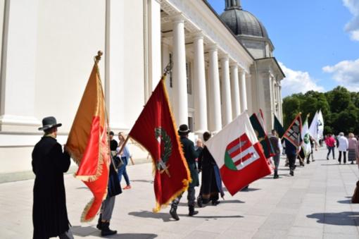 Klaipėdos rajono atstovai pagerbė Respublikos Prezidentą inauguracijos dieną