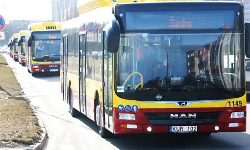 """Savivaldybės užmojis: siekia privatininkams """"prakišti"""" naujuosius autobusus"""