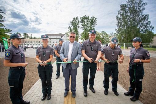 Klaipėdos rajono policijos pareigūnai įsikūrė naujajame pastate