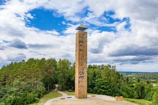 Aukščiausią apžvalgos bokštą Lietuvoje savaitgalį aplankė daugiau nei 10 tūkstančių žmonių