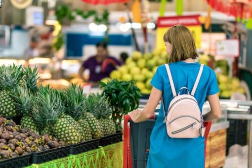 Pirkėjų srautai parduotuvėse bus reguliuojami