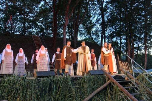 Tauragės krašte žmonės iš visos Lietuvos šventė Žemaitijos vardo paminėjimo 800 metų jubiliejų